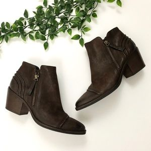 Paul Green 'Diandra' Leather Ankle Bootie